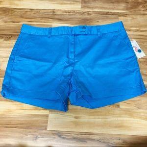 Vineyard vines blue chino shorts